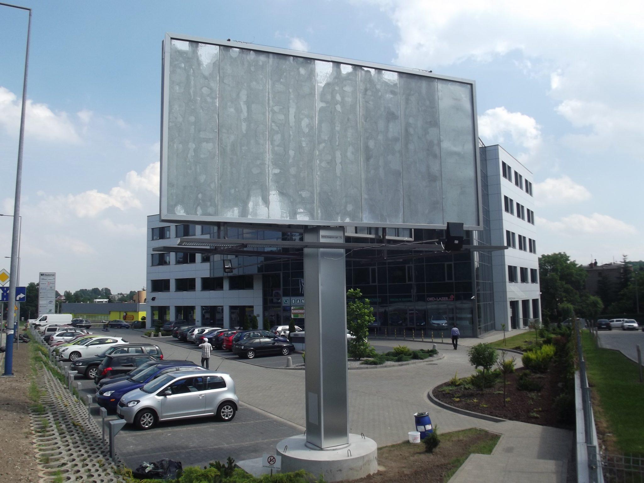 konstrukcja billboardu