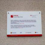 Szwajcarsko Polski Program Współpracy tablica