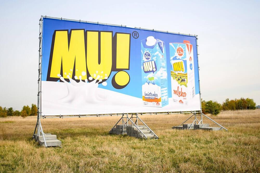 Konstrukcja reklamowa 12x6m MU!