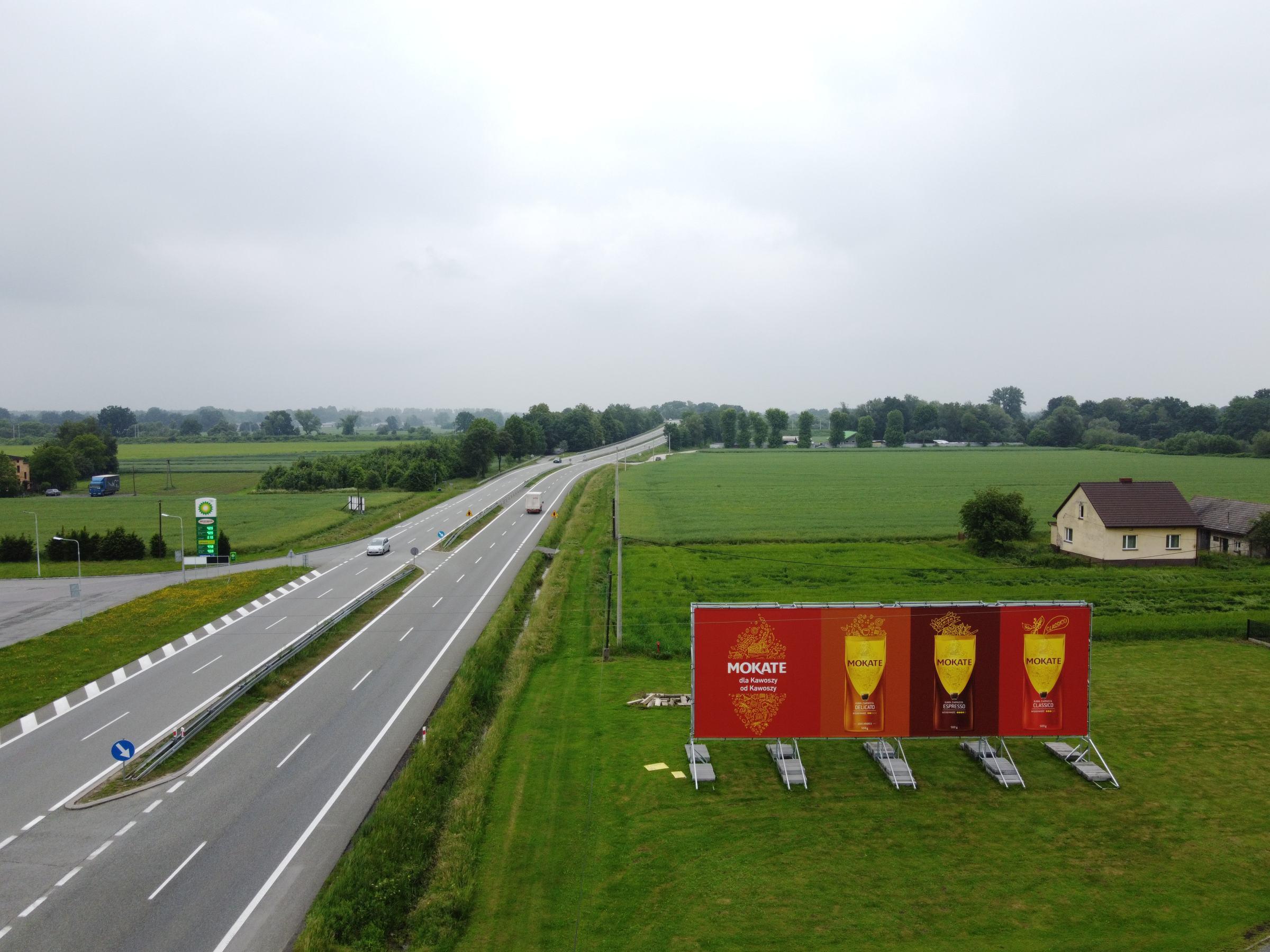 Billboard reklamowy Żory