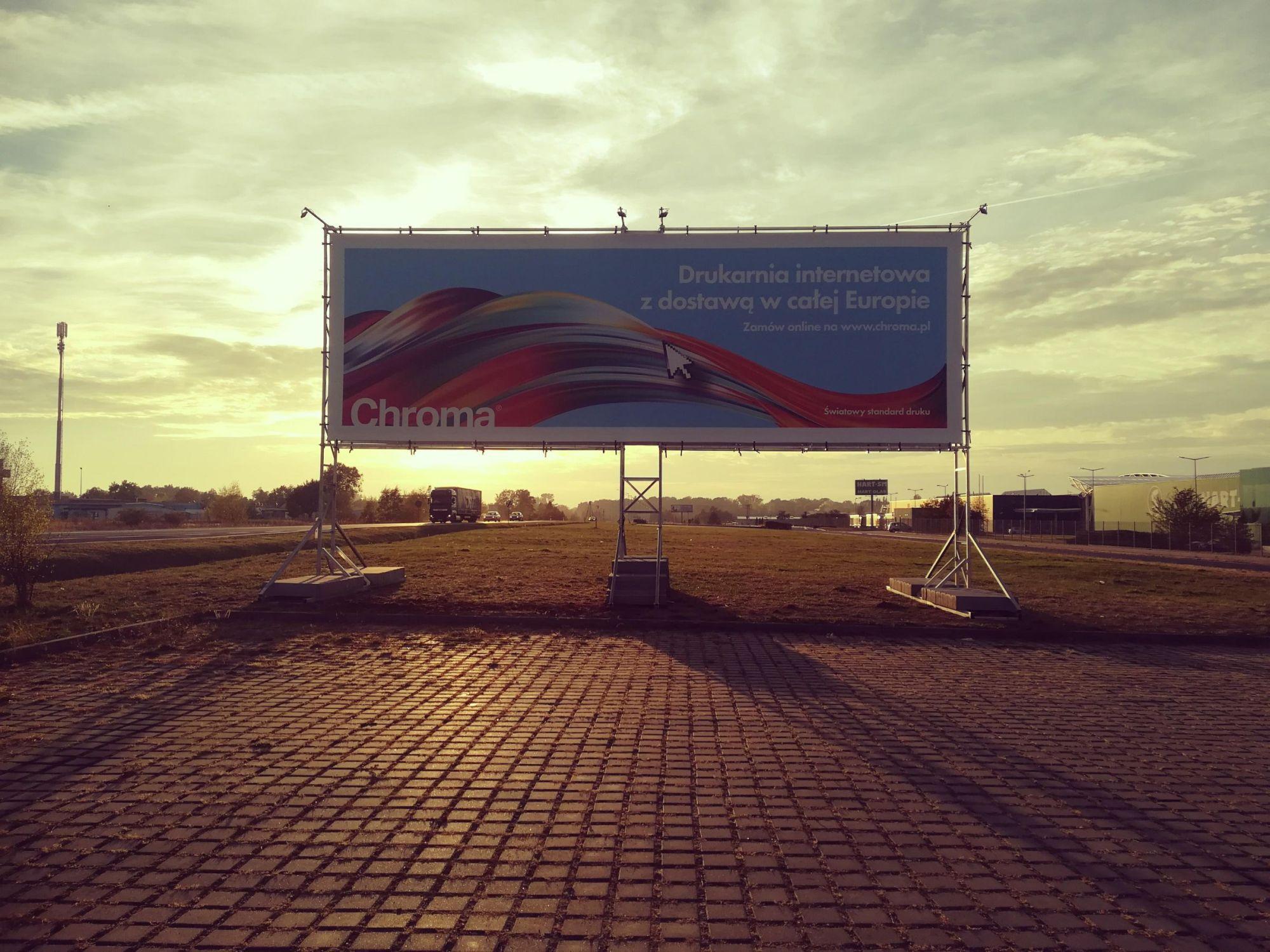 Billboard reklamowy Chroma