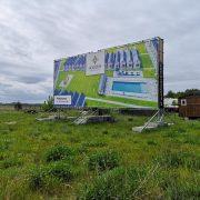Konstrukcja reklamowa 12x5m
