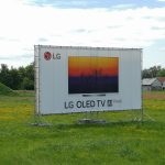 Billboard reklama LG OLED TV 12x6m