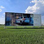 Tablica reklamowa BMW 18x6m