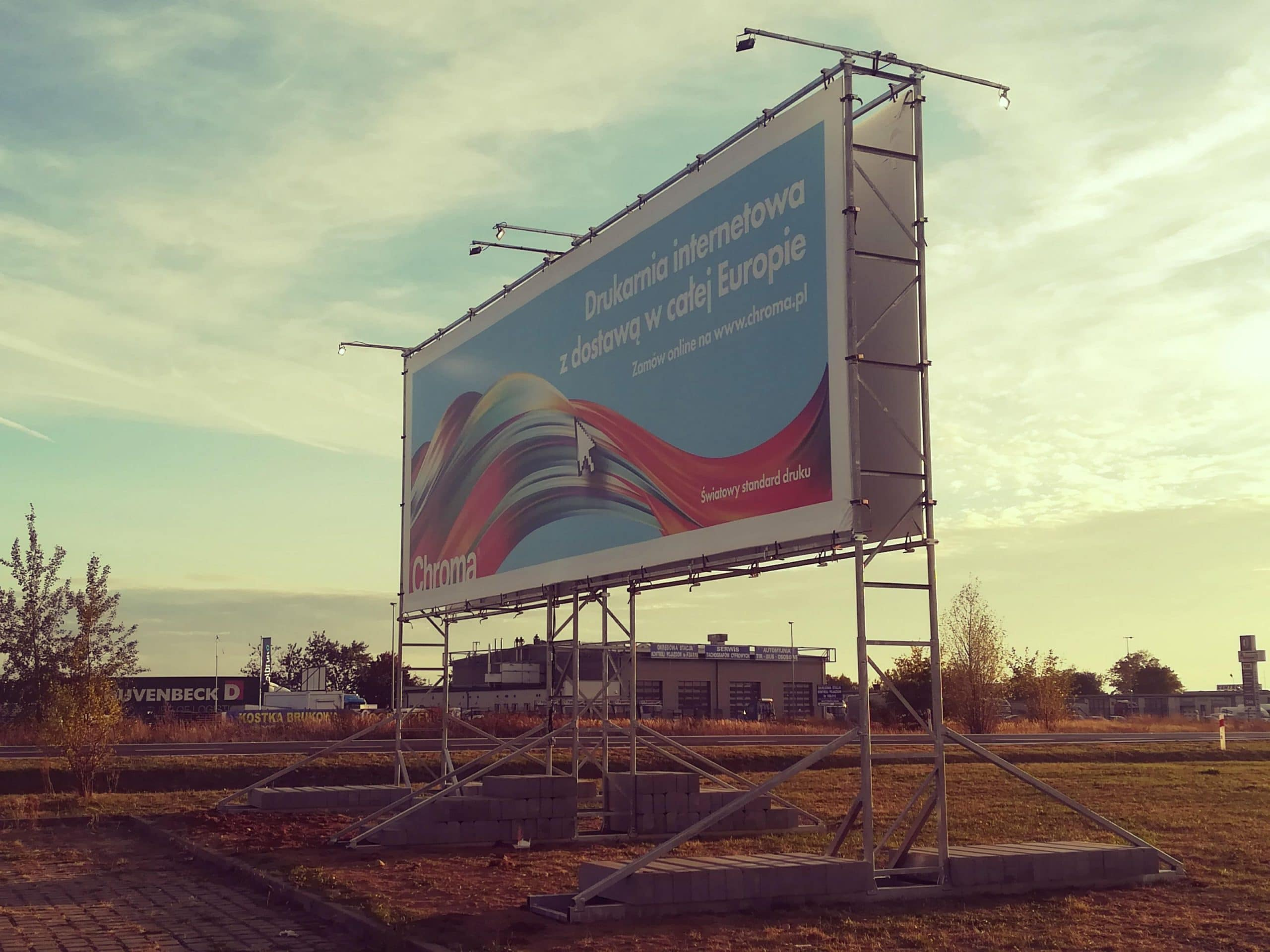 Billboard 12x4m