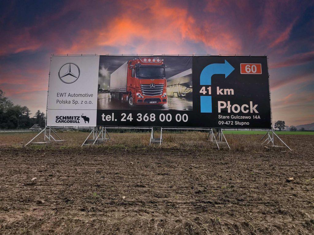 reklama autostradowa